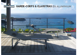 couverture Catalogue Garde-Corps & Claustras