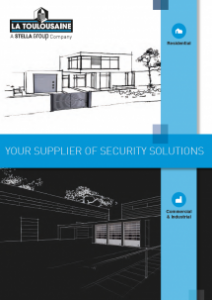 Your supplier of security solutions