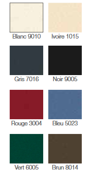 Couleurs gamme Access